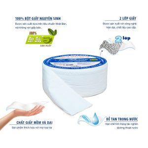 Đặc điểm của giấy vệ sinh cuộn lớn AKC500
