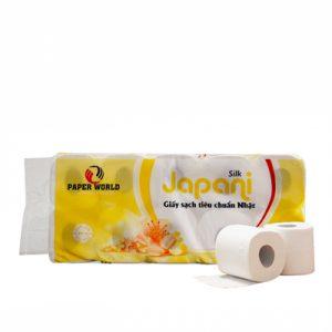 Giấy vệ sinh cuộn nhỏ japani silk 10 - JPS10 - thegioigiayvn.com