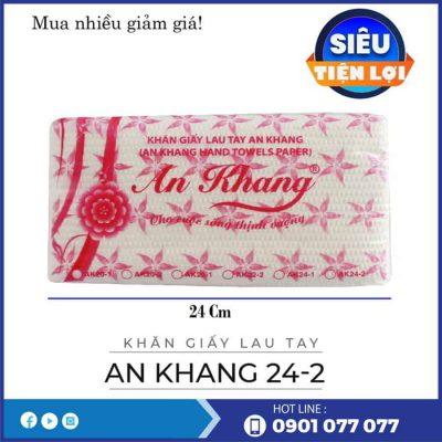 Cung cấp khăn giấy lau tay An Khang 24-2-thegioigiayvn.com