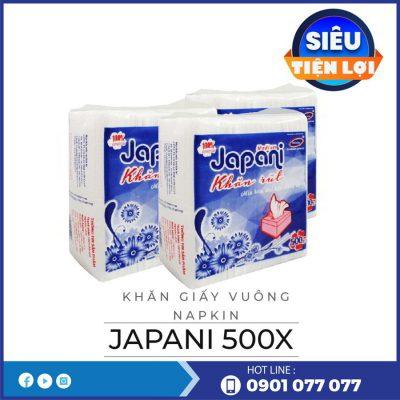 Cung cấp khăn giấy vuông napkin JP500X-thegioigiayvn.com