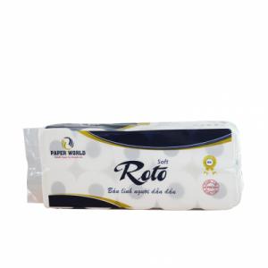 Giấy vệ sinh cuộn nhỏ Roto Soft 10 - RTS10