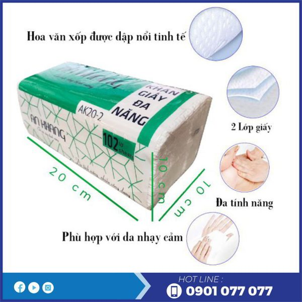 Đặc điểm khăn giấy lau tay ak20-2-thegioigiayvn.com