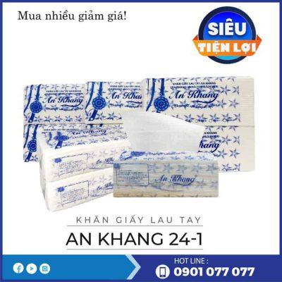 Mua khăn giấy lau tay An Khang 24-1-thegioigiayvn.com
