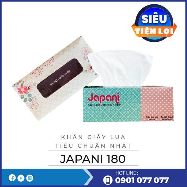 Cung cấp khăn giấy lụa hộp jps180-thegioigiayvn.com