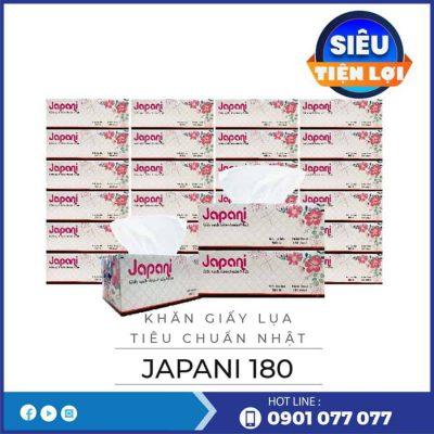Cung cấp khăn giấy lụa hộp tiêu chuẩn nhật jps180-thegioigiayvn.com