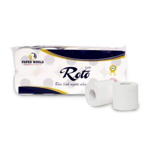 Giấy vệ sinh cuộn nhỏ Roto Soft10