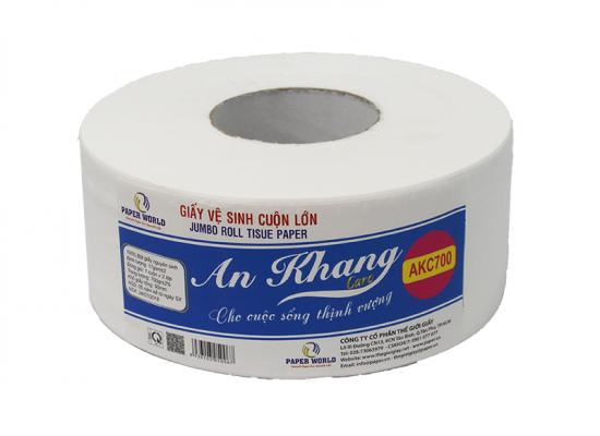 Giấy vệ sinh cuộn lớn An Khang Caro700 (AKC700)