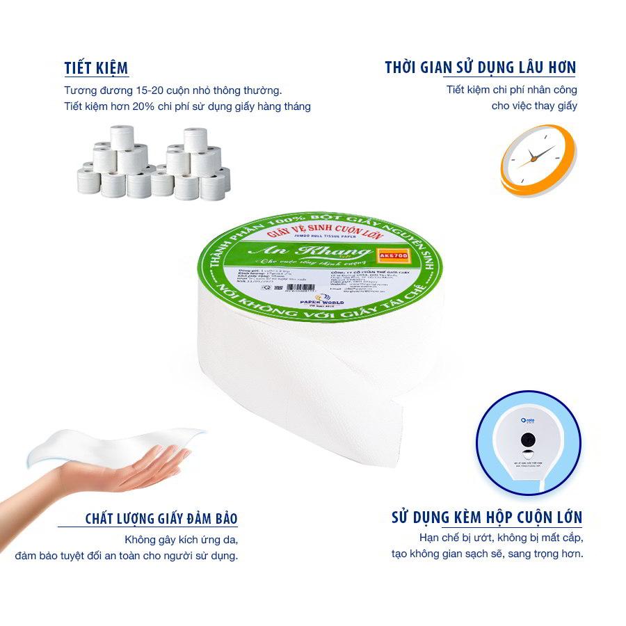 Lợi ích khi sử dụng giấy vệ sinh cuộn lớn AKS700