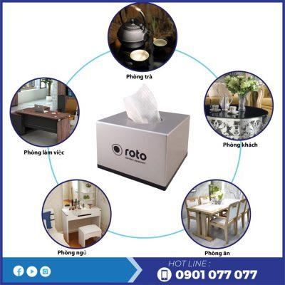 Mua hộp đựng giấy lau tay để bàn rt809-thegioigiayvn.com
