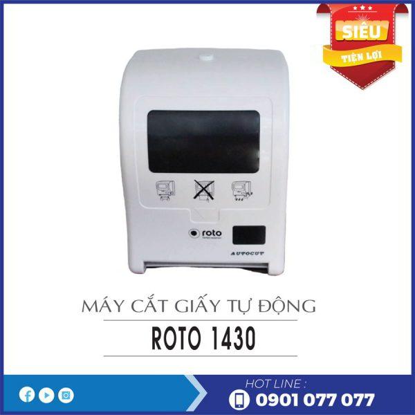 Cung cấp máy cắt giấy tự động roto1430-thegioigiayvn.com