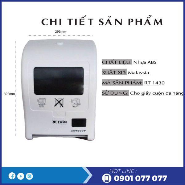 Đặc điểm sản phẩm máy cắt giấy tự động RT1430-thegioigiayvn.com