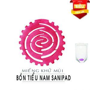 Miếng khử bồn tiểu Sanipad
