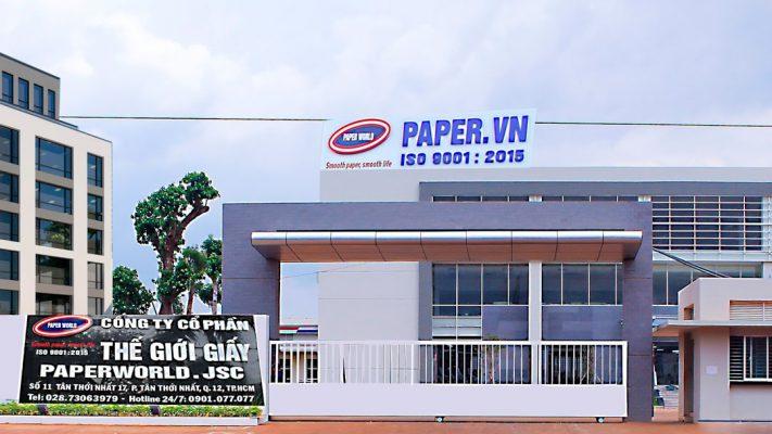 Thế Giới Giấy - Cung cấp giấy vệ sinh cuộn lớn giá rẻ