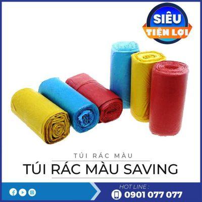 Đon vị cung cấp túi rác màu saving-thegioigiayvn.com