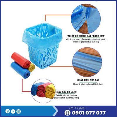 Đặc điểm của túi rác màu saving-thegioigiayvn.com
