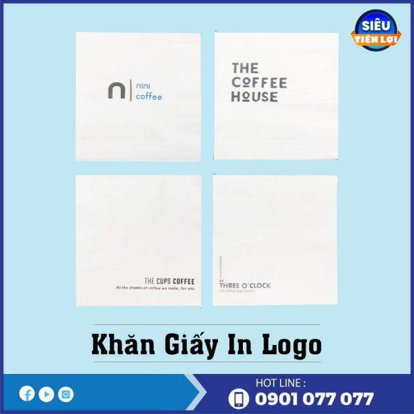 Công ty bán khăn giấy in logo tại Thế Giới Giấy -thegioigiayvn,com
