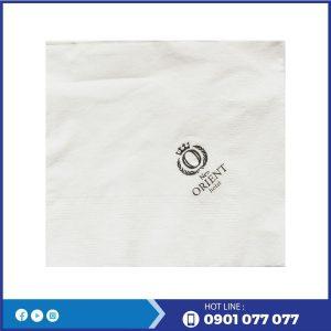 Cung cấp khăn giấy in logo thương hiệu orient hotel-thegioigiayvn.com