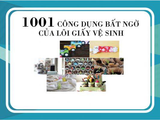 1001 công dụng bất ngờ từ lõi giấy vệ sinh - thegioigiayvn.com