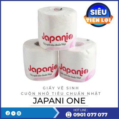Mua giấy vệ sinh cuộn nhỏ japani one - thegioigiayvn.com
