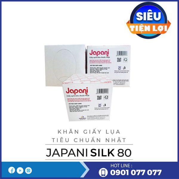 Công ty bán khăn giấy lụa hộp japani silk 80-thegioigiayvn.com