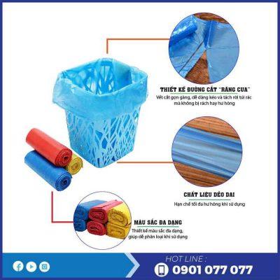 Đặc điểm của túi rác màu eco - thegioigiayvn.com