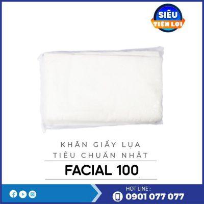 Đơn vị cung cấp khăn giấy lụa cao cấp facial100