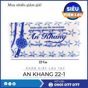Cung cấp khăn giấy lau tay an khang 22-1-thegioigiayvn.com