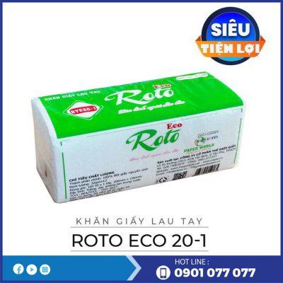 Cung cấp khăn giấy lau tay roto eco20-1-thegioigiayvn.com