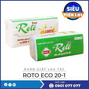 Mua khăn giấy lau tay roto eco20-1-thegioigiayvn.com
