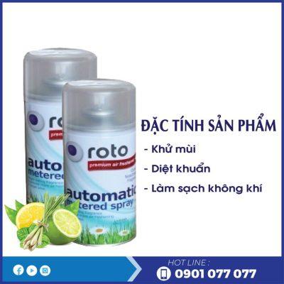 Đặc tính sản phẩm nước hoa xịt phòng rt300-thegioigiayvn.com