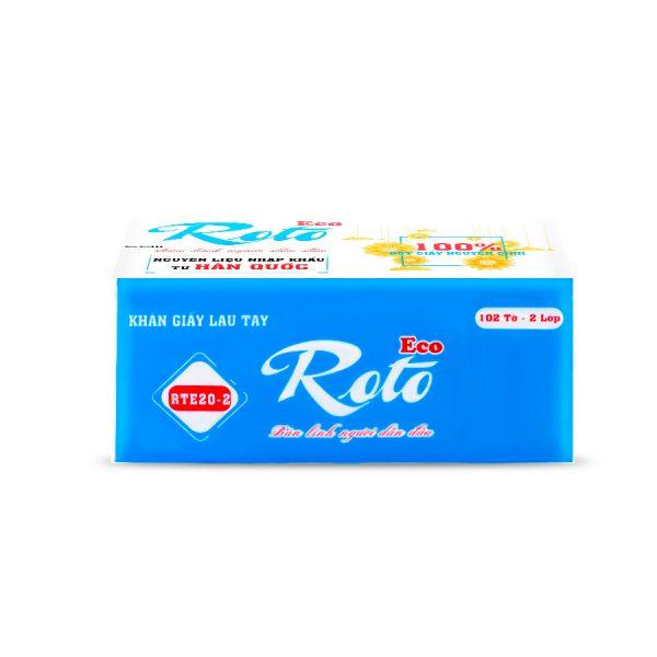 Khăn giấy lau tay RTE20-2