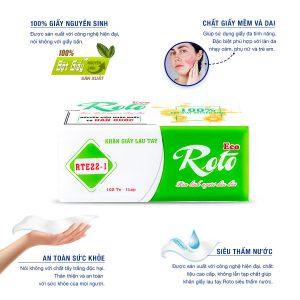 Khăn giấy lau tay Roto RT22-2