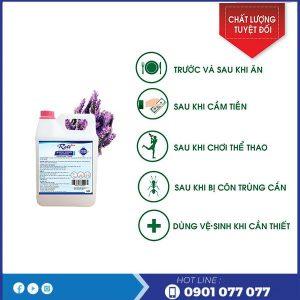 Cung cấp gel rửa tay khô diệt khuẩn đa tính năng
