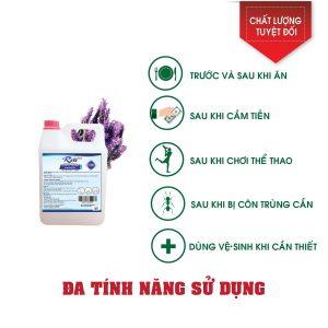 Tính năng sử dụng của gel rửa tay khô diệt khuẩn GT999