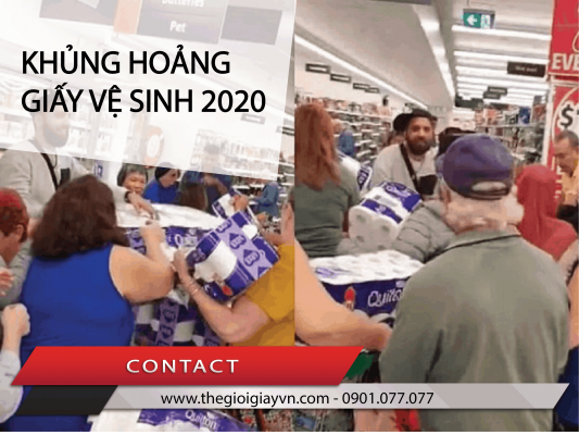 Khủng hoảng giấy vệ sinh 2020