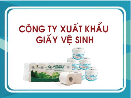 xuất khẩu giấy vệ sinh