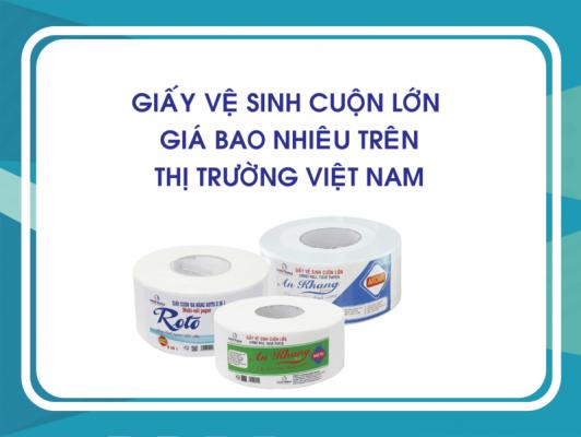 Giấy Vệ Sinh Cuộn Lớn Giá Bao Nhiêu Trên Thị Trường Việt Nam?