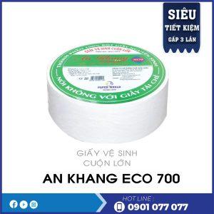 giấy cuộn lớn An Khang Eco700