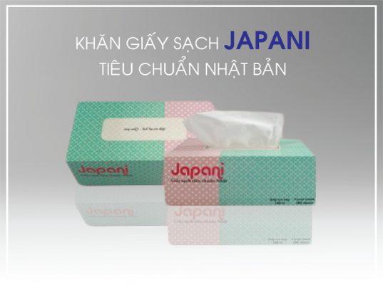 Khăn giấy sạch japani tiêu chuẩn Nhật Bản