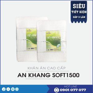 Cung cấp khăn ăn An Khang Soft1500 Siêu Tiết Kiệm