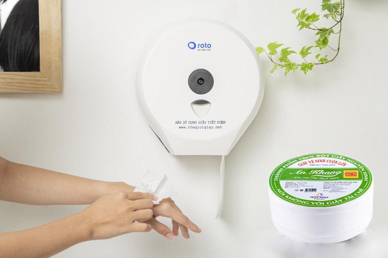 Cách mua giấy vệ sinh cuộn lớn giá rẻ