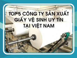 Top 5 công ty sản xuất giấy vệ sinh uy tín nhất Việt Nam